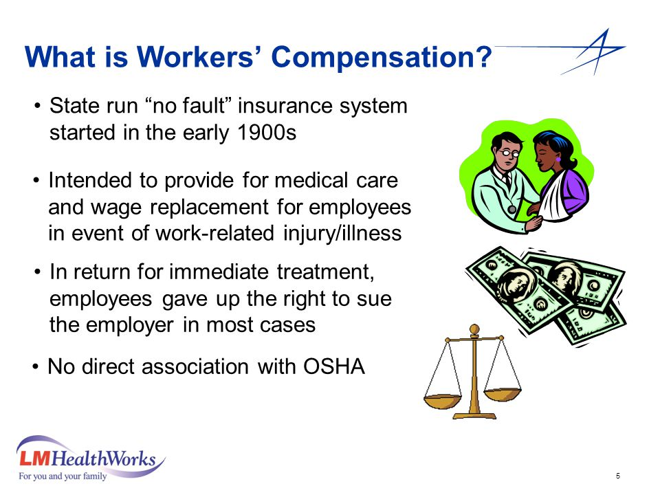 5 What is Workers' Compensation.