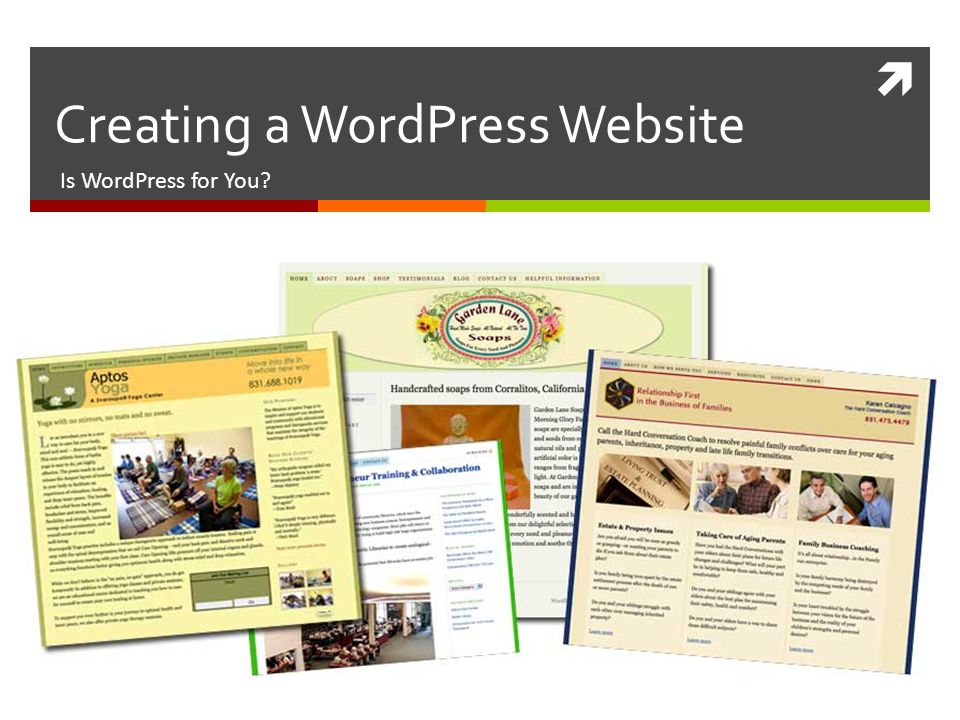  Creating a WordPress Website Is WordPress for You