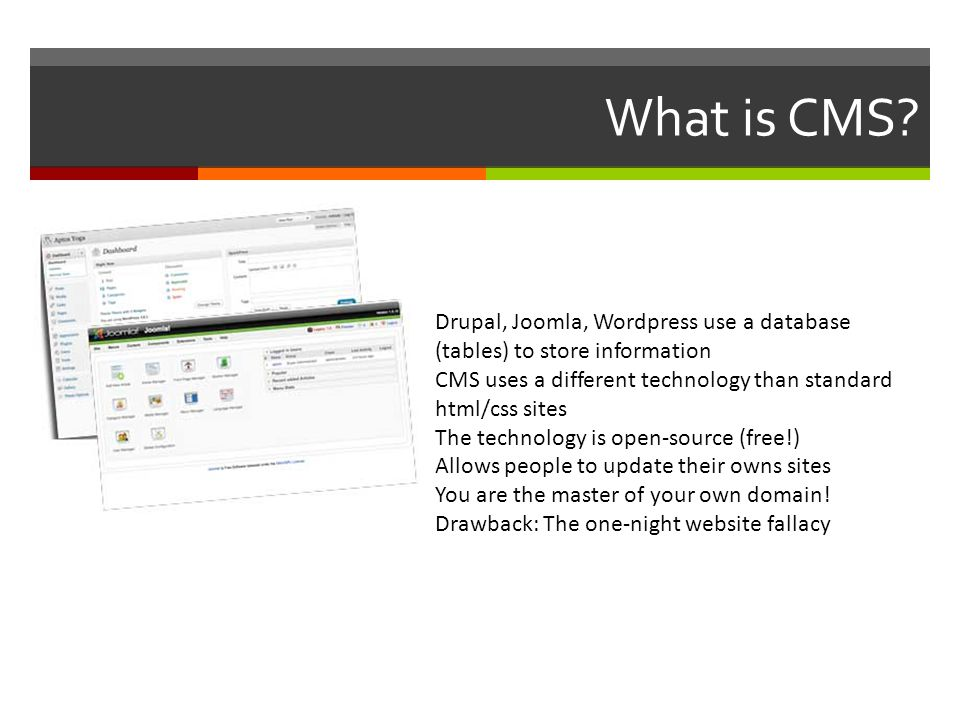 What is CMS.