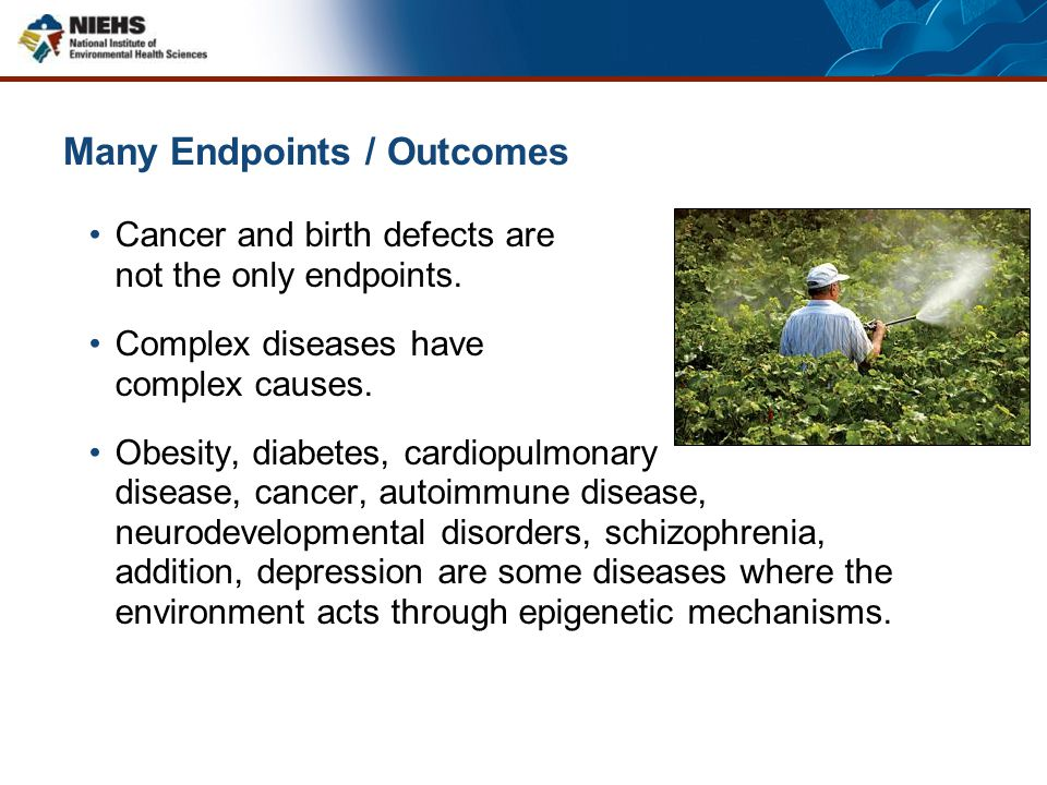 What genetic disease is caused/affected by the environment?