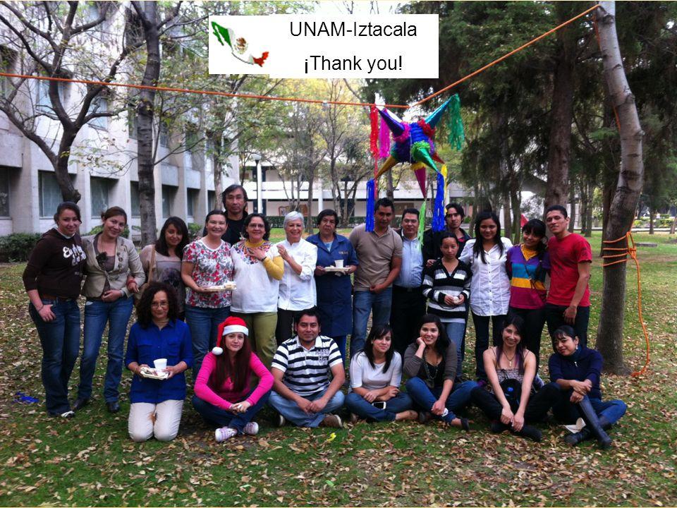 UNAM-Iztacala ¡Thank you!