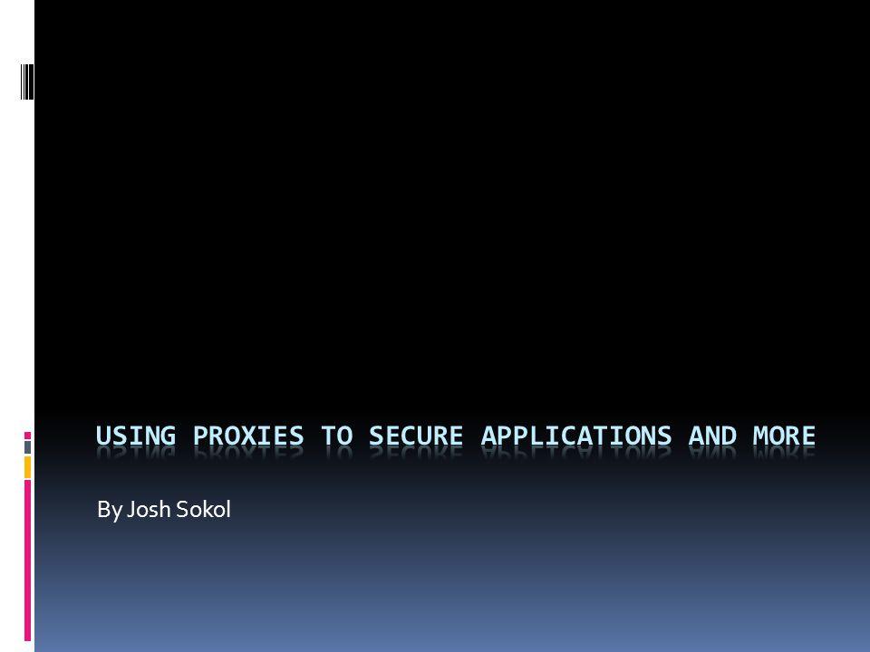 Firefox Extension: SwitchProxy Extension: Tamper Data | Google Ratproxy | OWASP WebScarab Act III – Intercepting Proxies