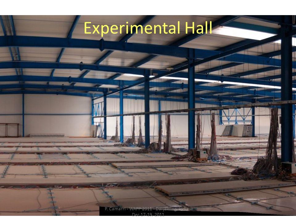 Experimental Hall P. Camarri - WAPP 2011 - Darjeeling, India - Dec 17-19, 2011
