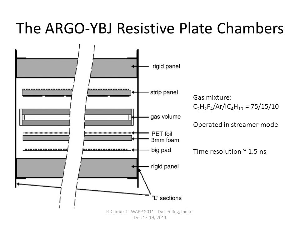 The ARGO-YBJ Resistive Plate Chambers P.
