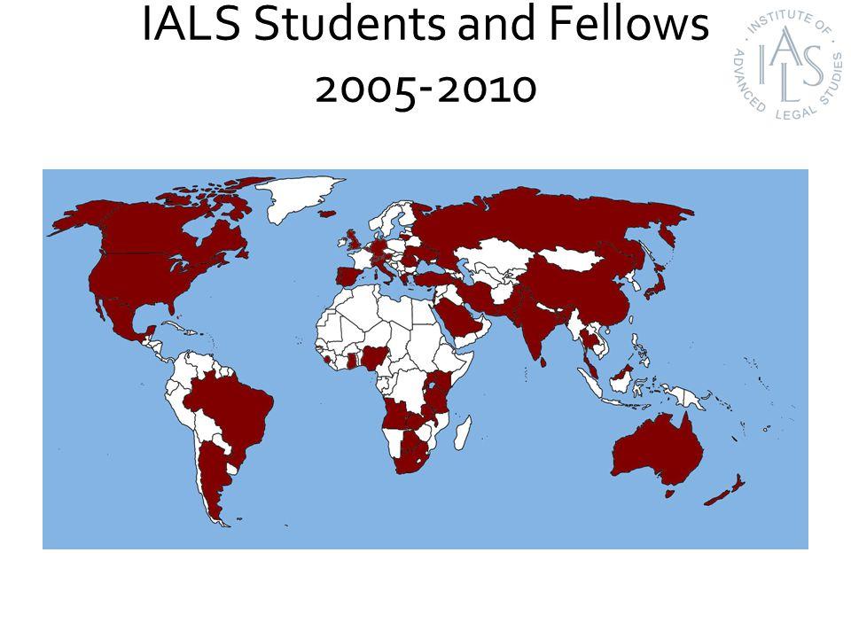 IALS Staff Influence 2005-2010