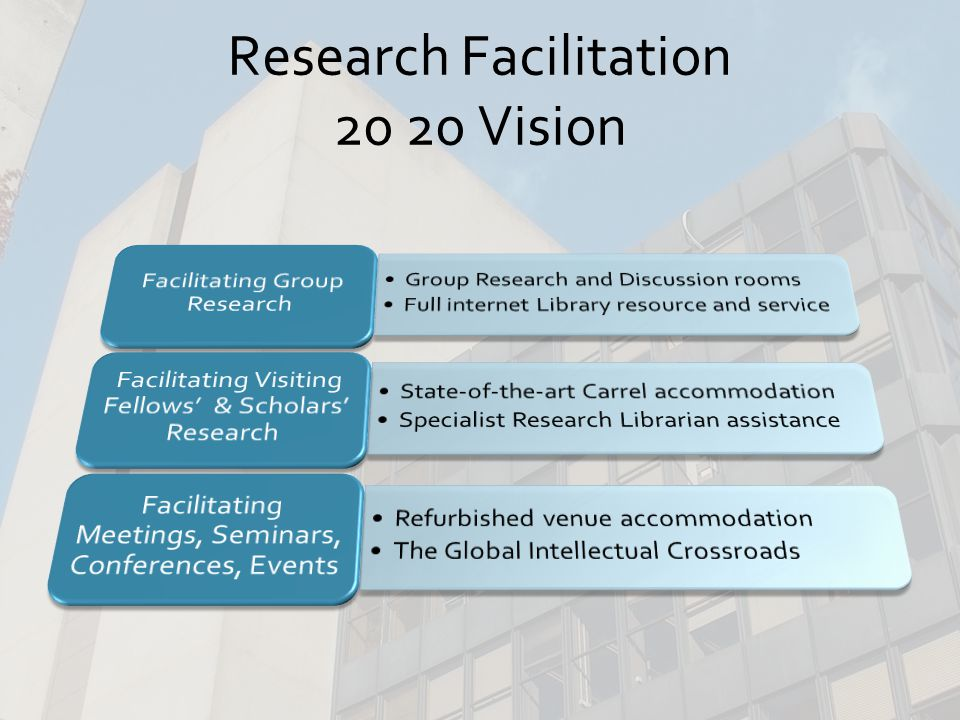 The National Legal Research Centre at IALS in 20 20 Vision
