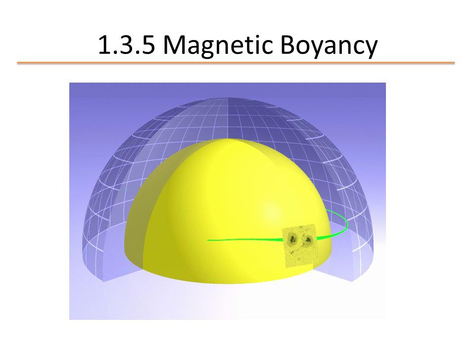 1.3.5 Magnetic Boyancy