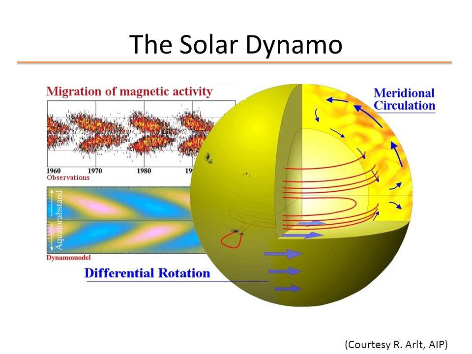 The Solar Dynamo (Courtesy R. Arlt, AIP)