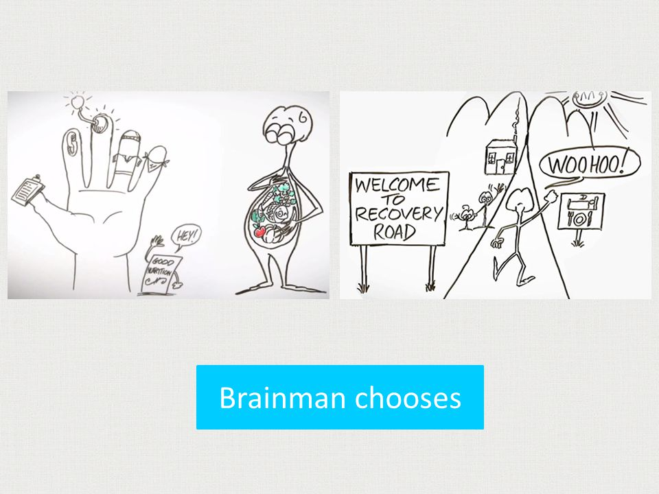 Brainman chooses