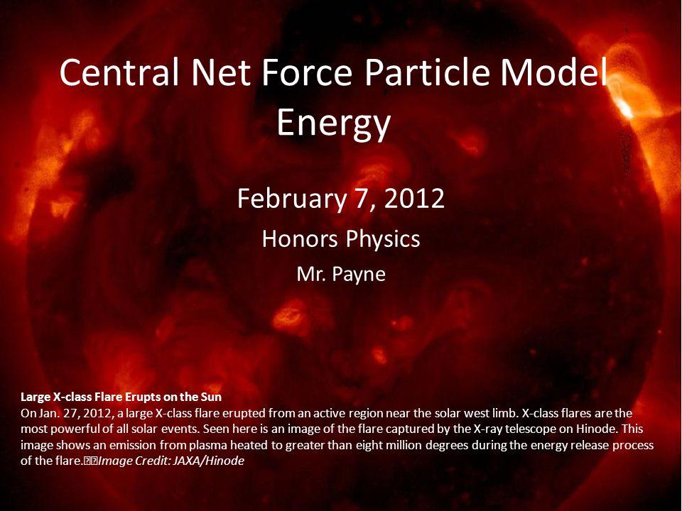 February 7, 2012 Honors Physics Mr.