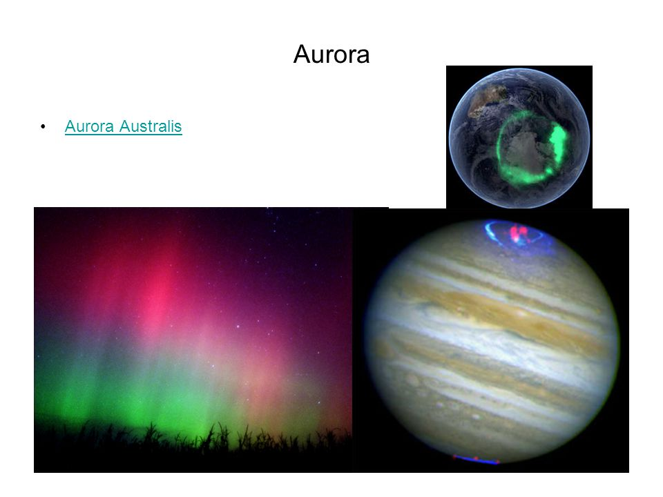 Aurora Aurora Australis