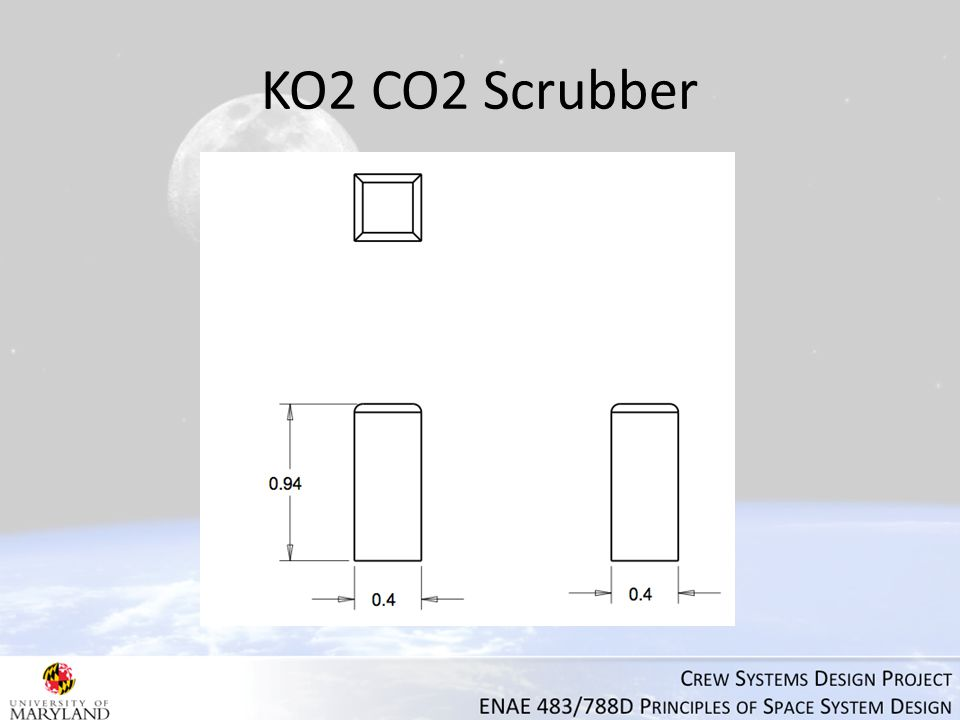 KO2 CO2 Scrubber