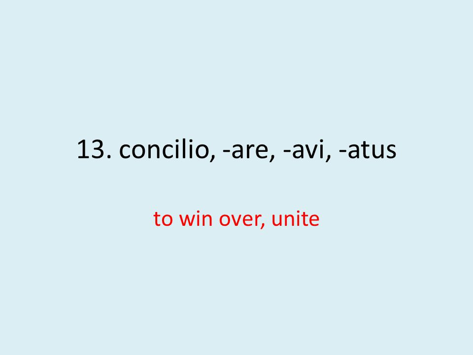 to win over, unite