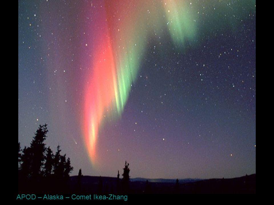 APOD – Alaska – Comet Ikea-Zhang