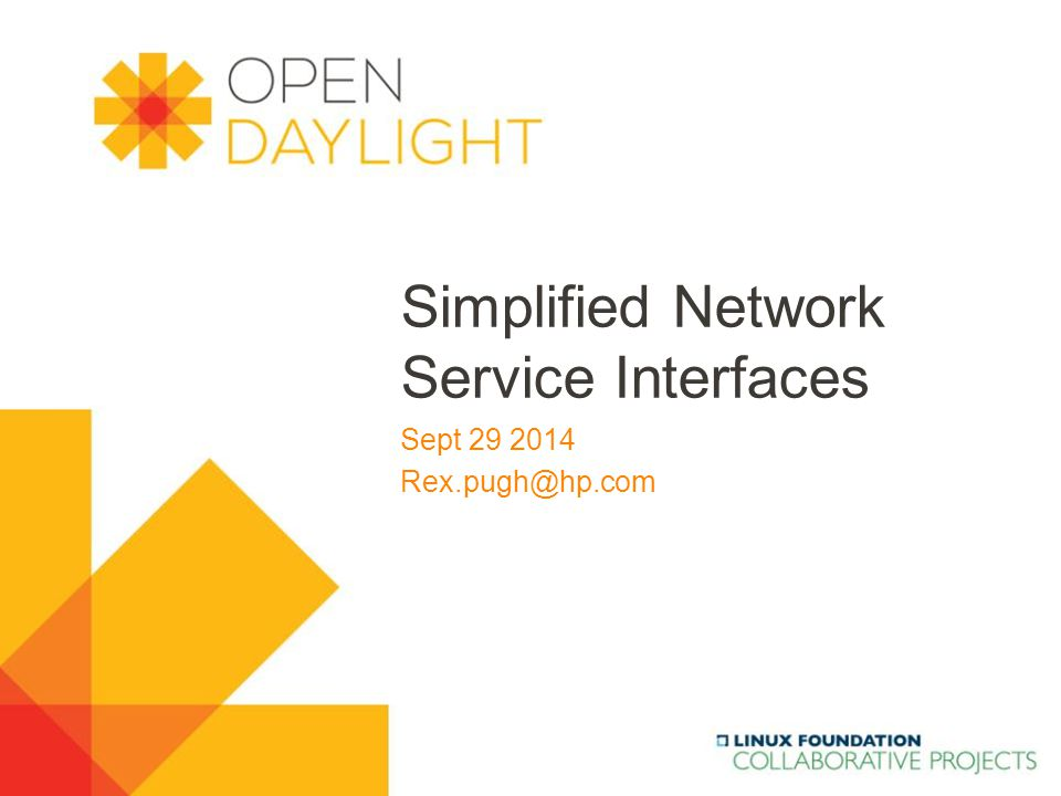 www.opendaylight.org  Motivations  Use-cases  API Definitions  Design Considerations  Q/As Outline 2