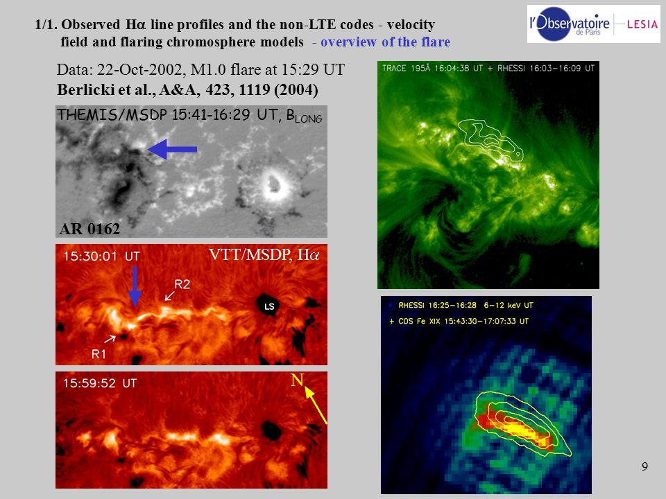 9 N THEMIS/MSDP 15:41-16:29 UT, B LONG VTT/MSDP, H  AR 0162 1/1.