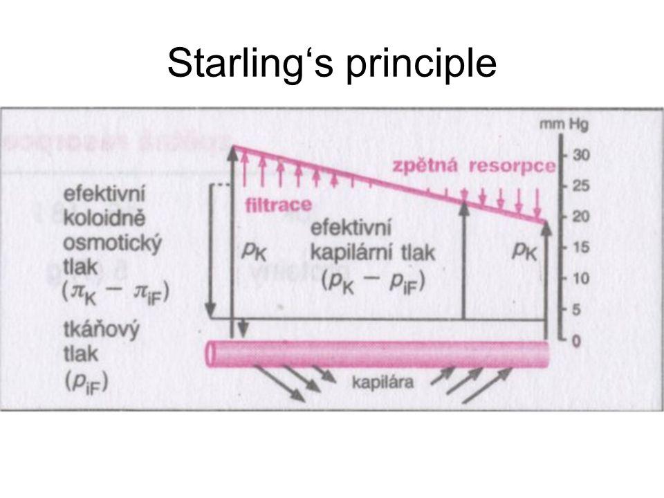 Starling's principle