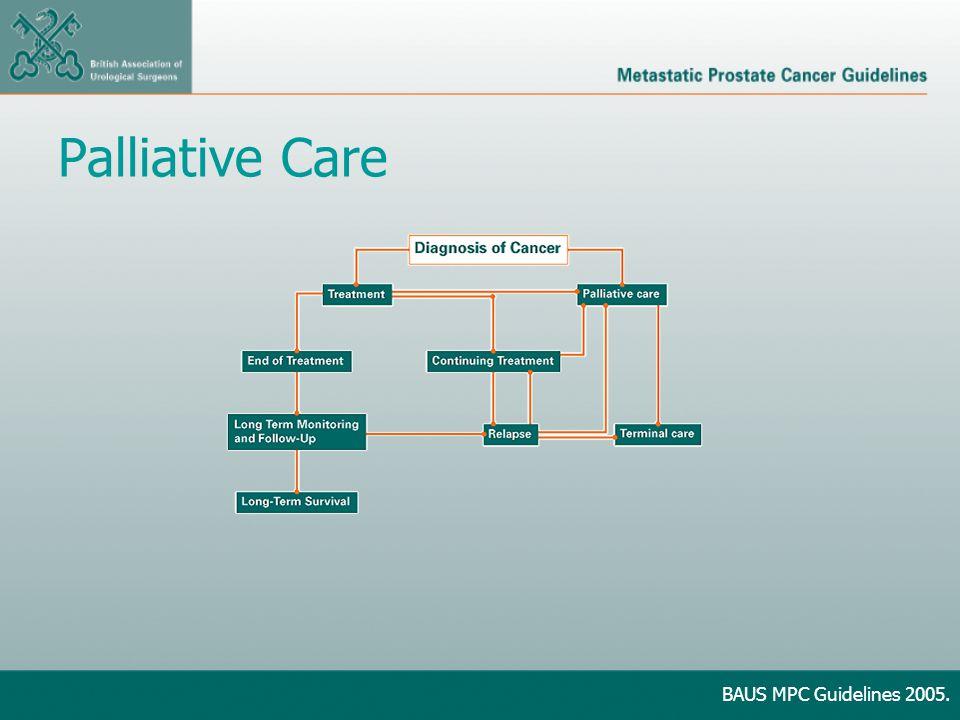 Palliative Care BAUS MPC Guidelines 2005.