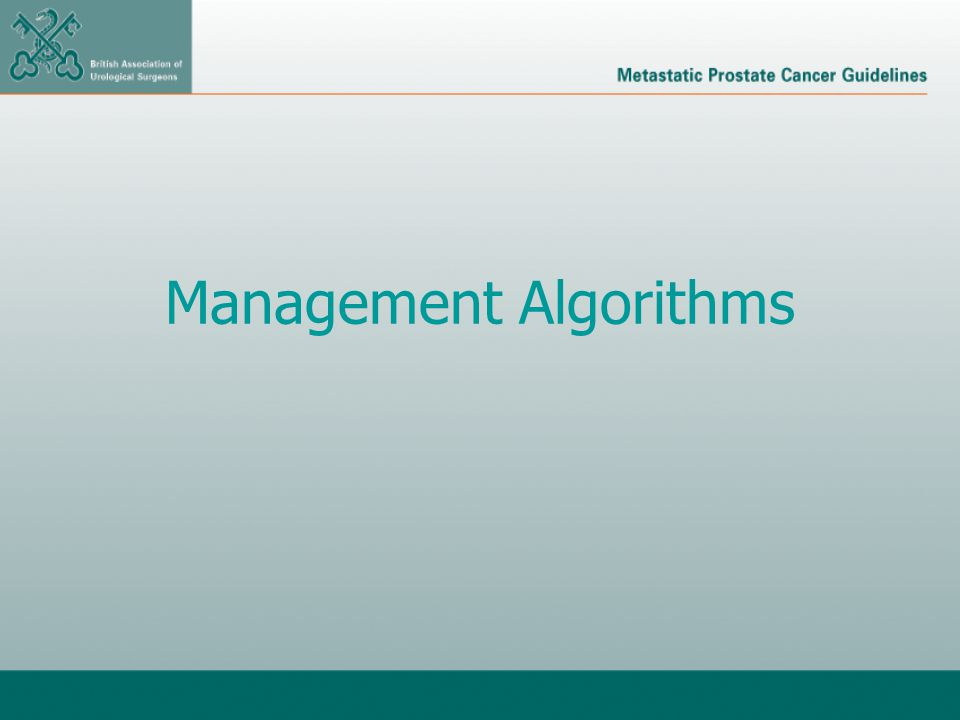 Management Algorithms