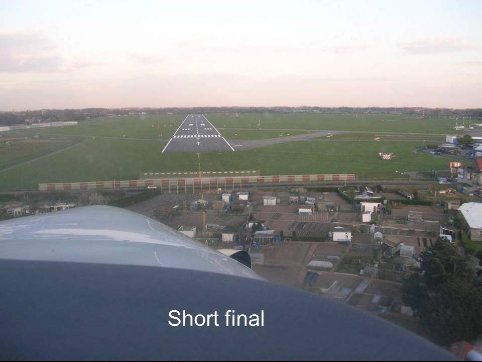 Short final