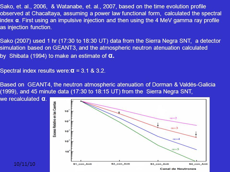 10/11/10 Sako, et. al., 2006, & Watanabe, et.
