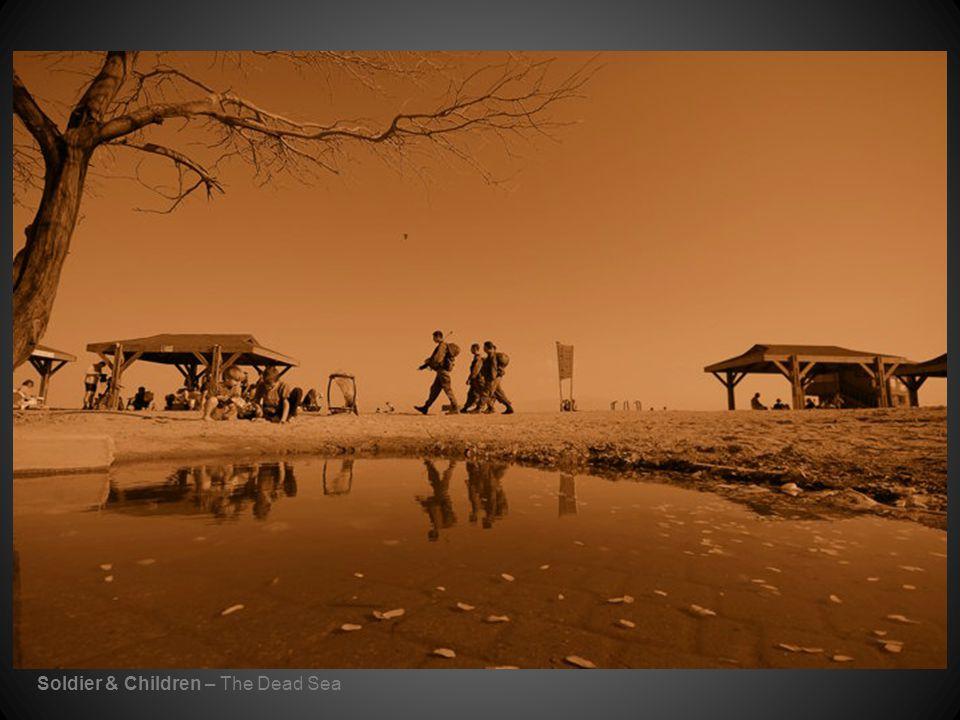 Soldier & Children – The Dead Sea