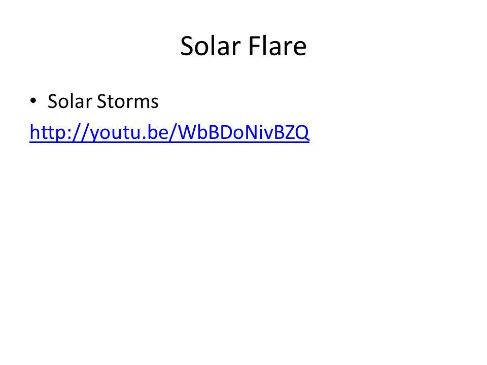 Solar Flare Solar Storms http://youtu.be/WbBDoNivBZQ