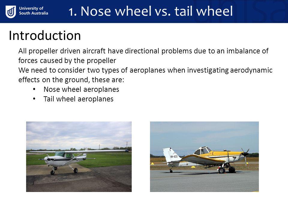 Nose wheel vs.