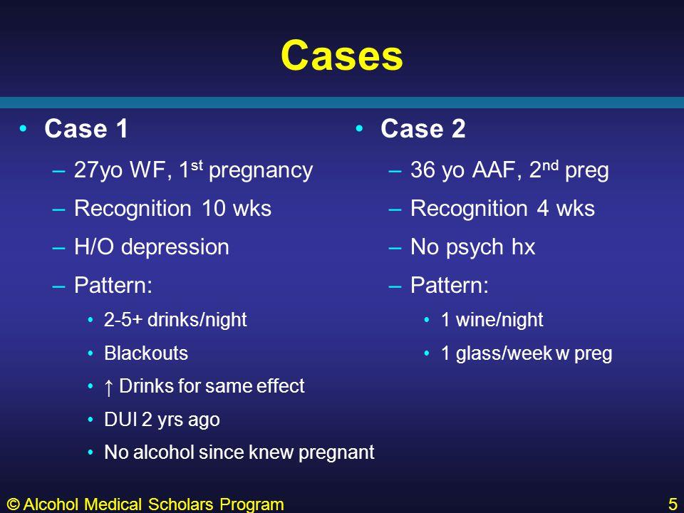 DEFINITIONS © Alcohol Medical Scholars Program6