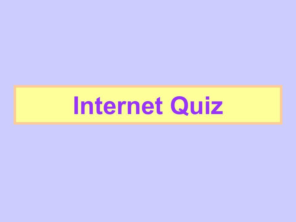 Internet Quiz