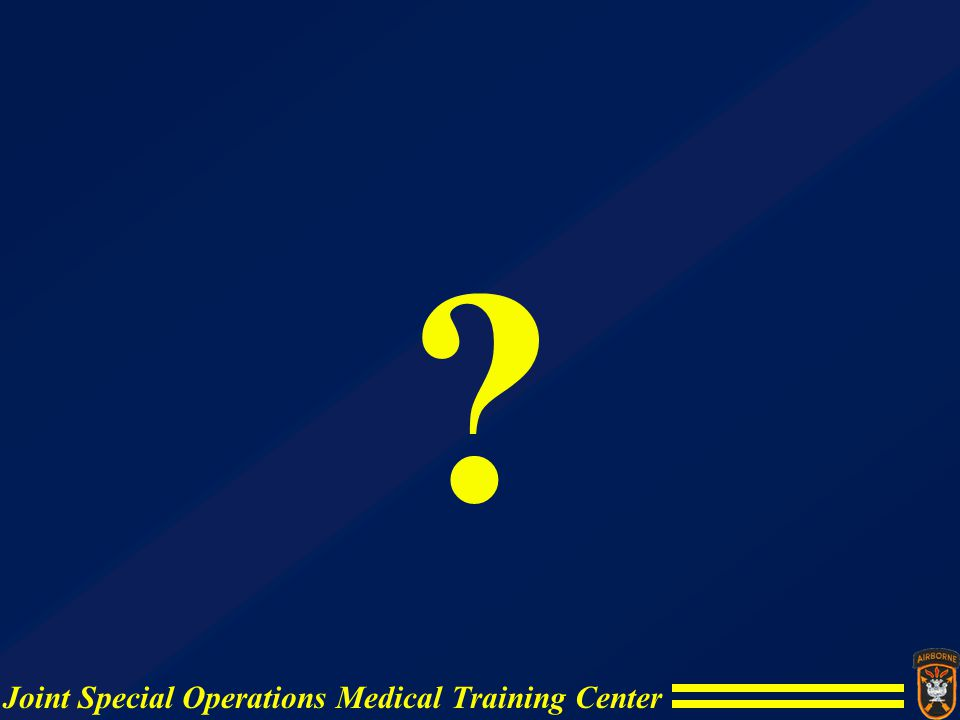 Joint Special Operations Medical Training Center ?