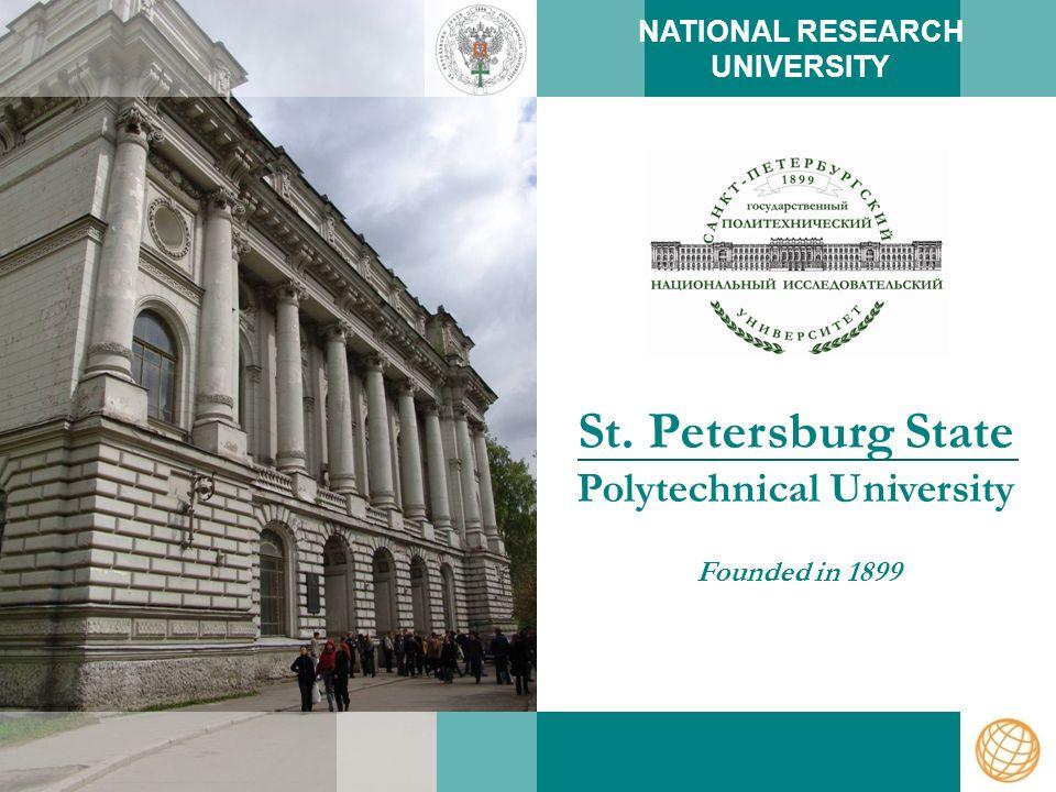 www.spbstu-eng.ru INTERNATIONAL ACTIVITIES
