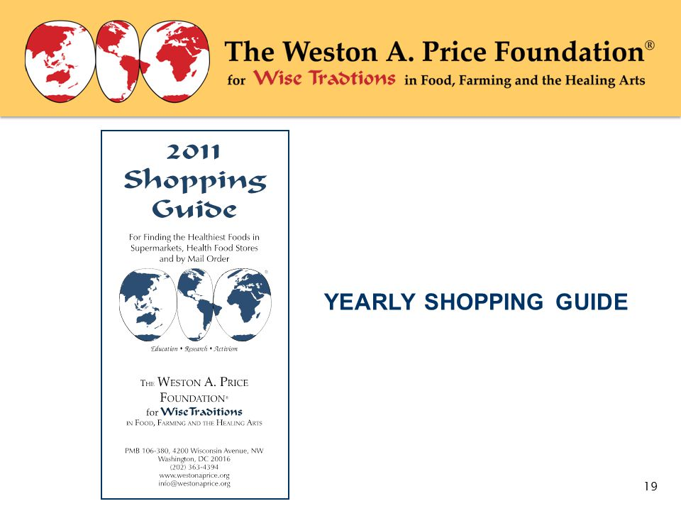 YEARLY SHOPPING GUIDE 19