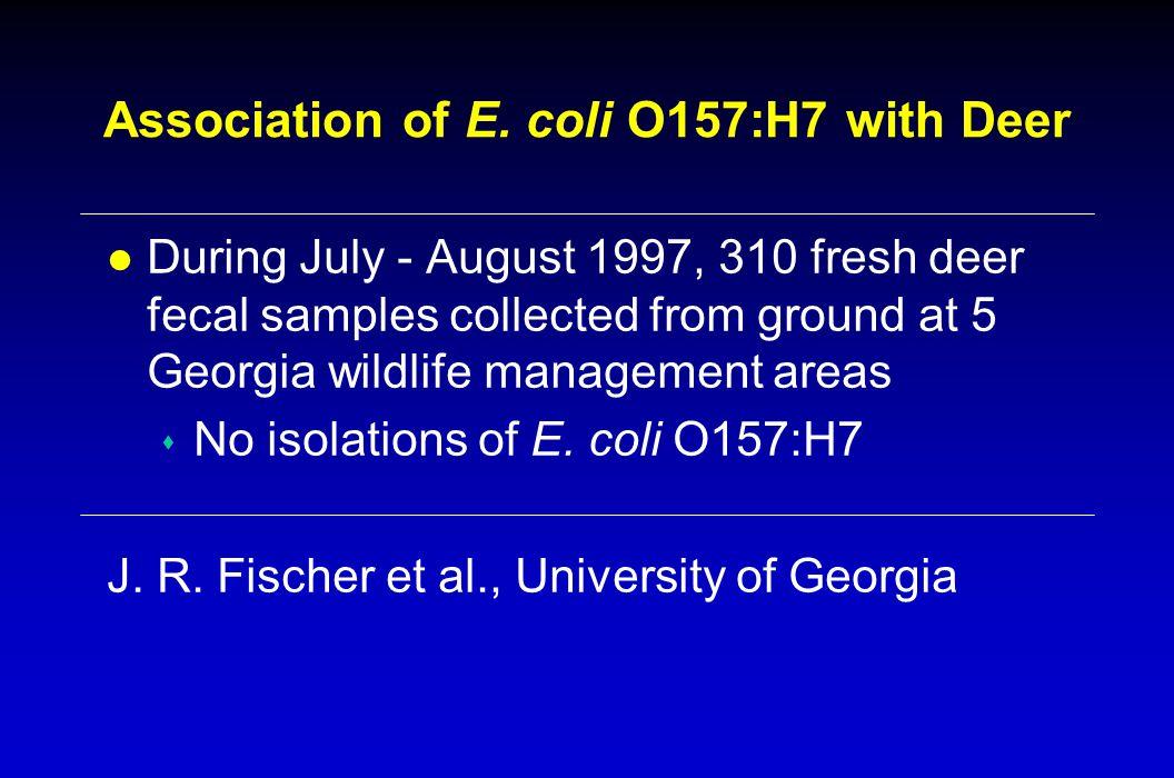 Association of E.