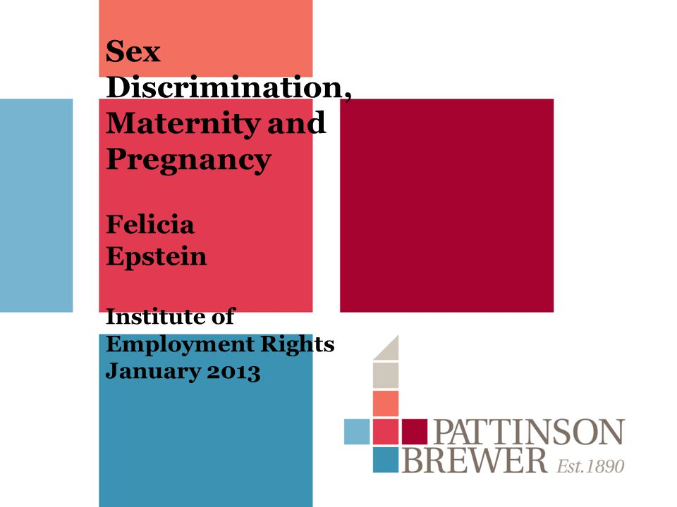 Hair Division Ltd v Macmillan EAT in Scotland ET found that the dismissal was pregnancy-related, The EAT overruled the finding that the dismissal was pregnancy related, holding it was not open to the Employment Tribunal to find that there was pregnancy discrimination.