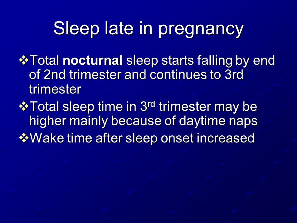 Sleep postpartum