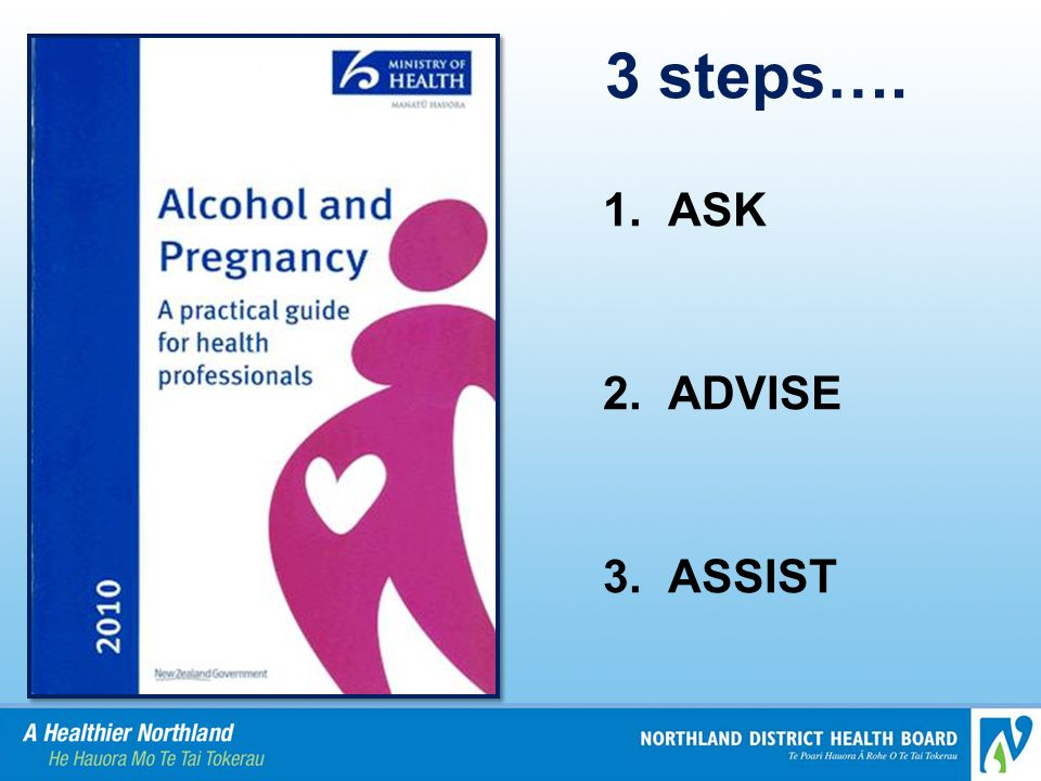 3 steps…. 1. ASK 2. ADVISE 3. ASSIST