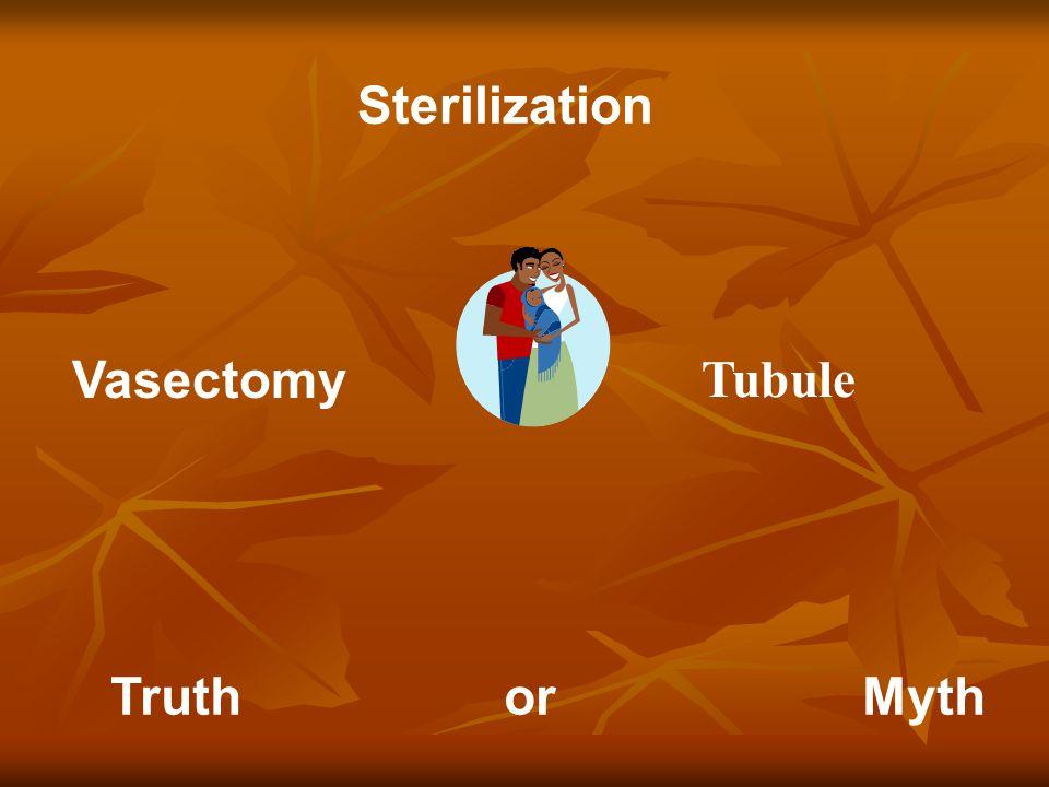 Vasectomy Sterilization Truth or Myth Tubule