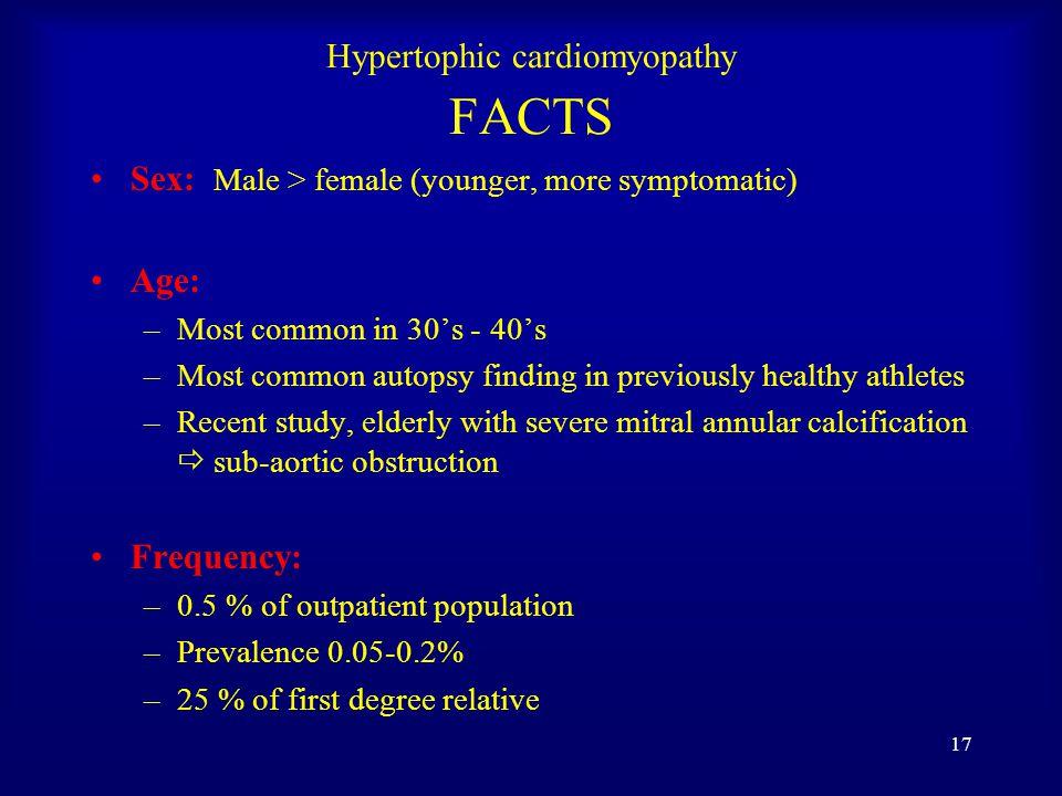 16 Hypertophic cardiomyopathy (HOCM)