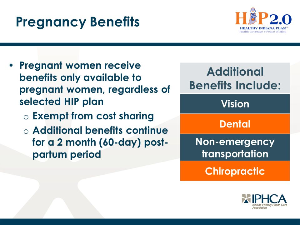 Pregnancy Question Can pregnant women above ~138% FPL still get coverage from an Indiana Health Coverage Program (IHCP).