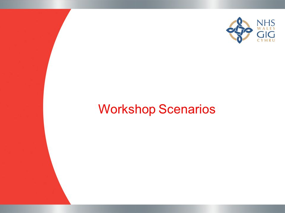 Workshop Scenarios