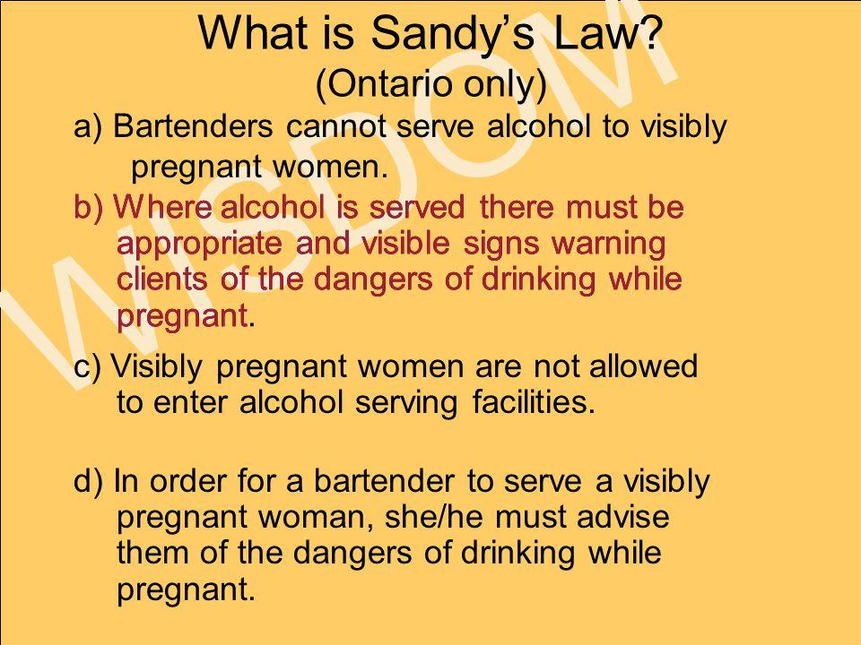 www.faseout.ca 2008 WISDOM What is Sandy's Law.
