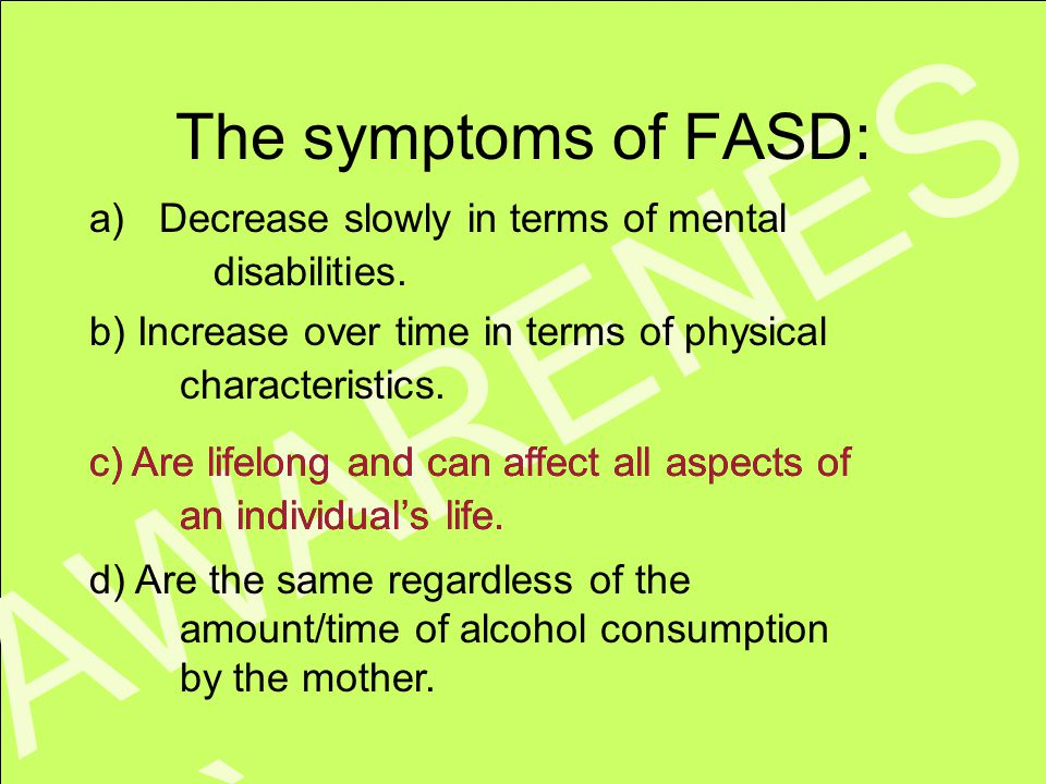 www.faseout.ca 2008 KNOWLEDG E The third step to prevention is knowing the facts! LEVEL THREE: