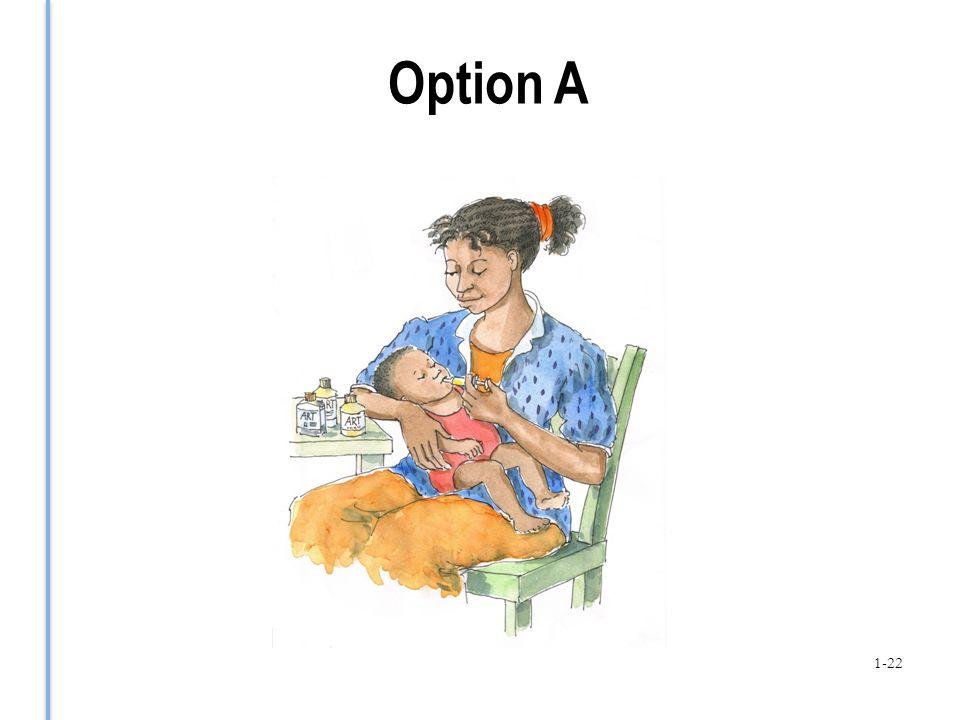 Option A 1-22