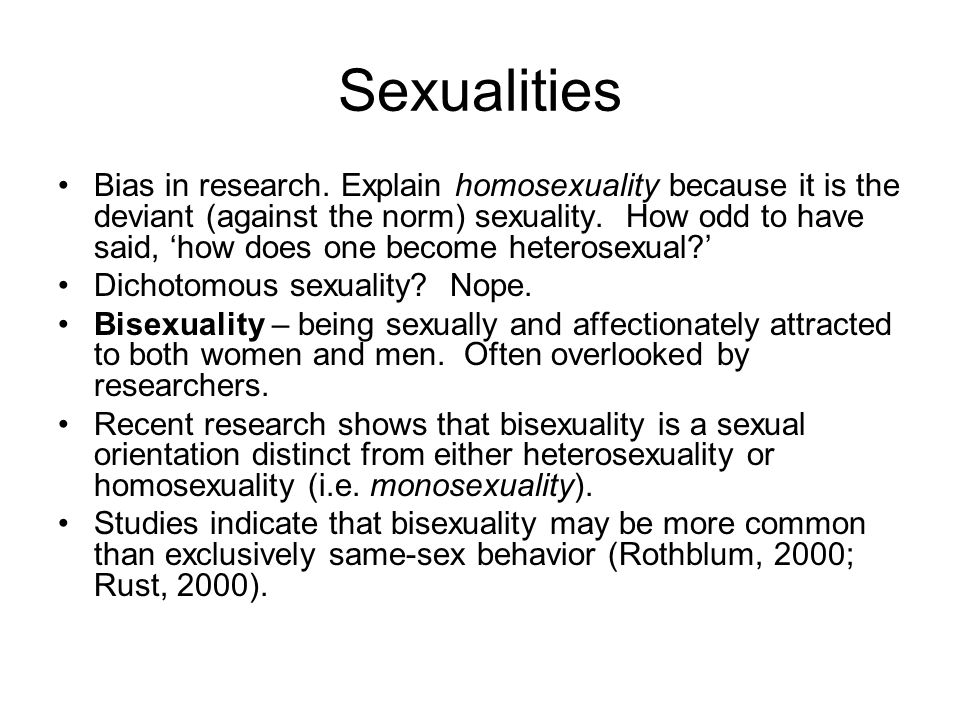Sexualities and Marriage Impossible to know how many homosexuals and bisexuals live in the U.S.