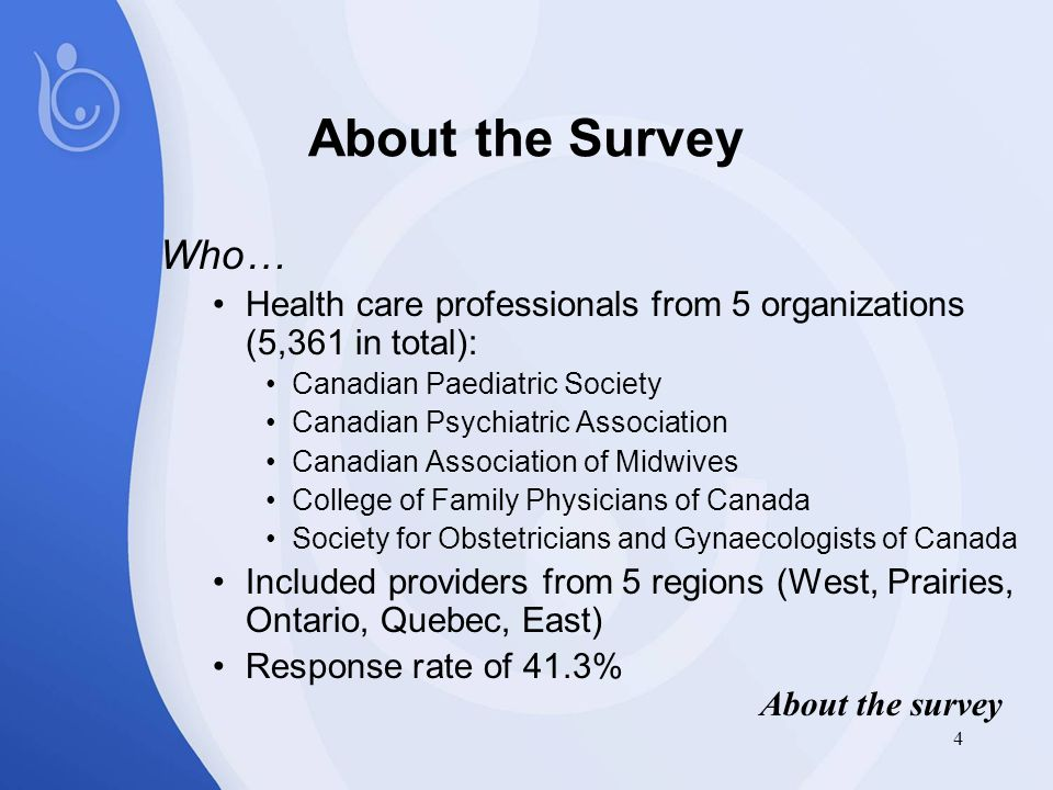 25 Survey results suggest…  A broad approach to awareness-raising, education and training of health care providers must reflect the needs identified by providers and the gaps in knowledge Diagnosis issues