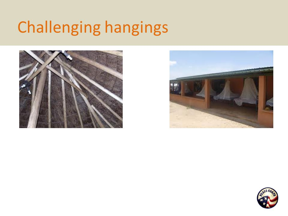 Challenging hangings