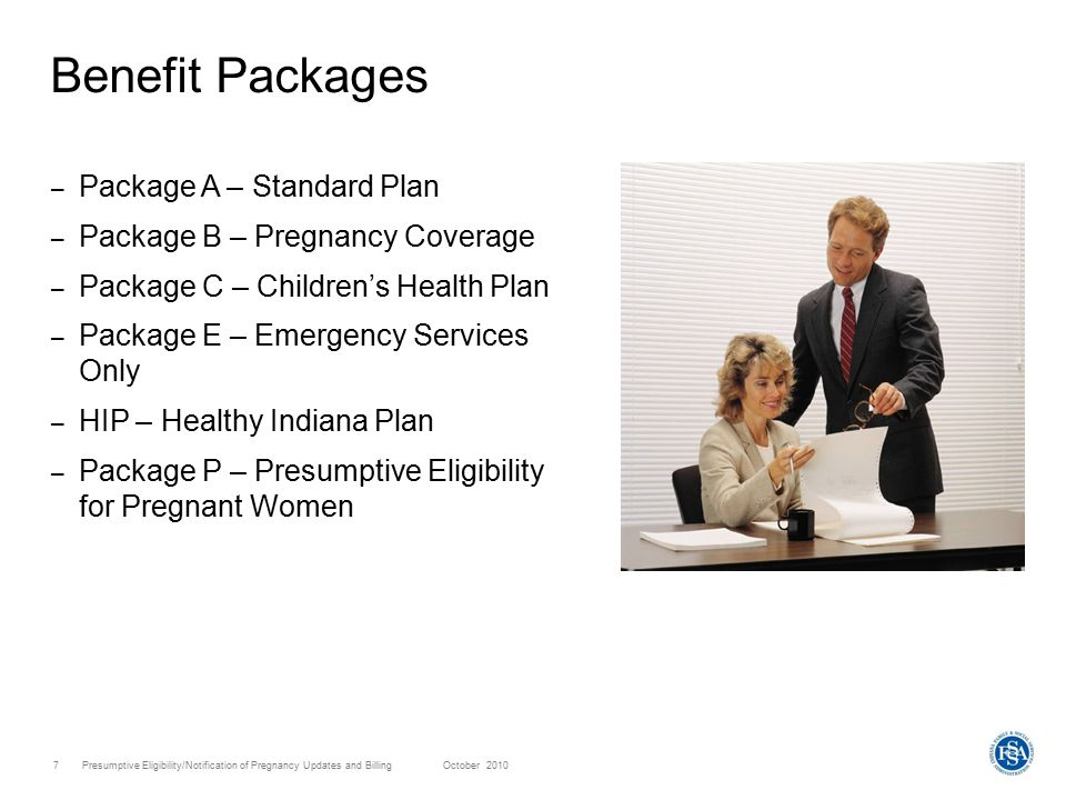 Presumptive Eligibility/Notification of Pregnancy Updates and Billing October 20108 Who Is Eligible for Presumptive Eligibility.
