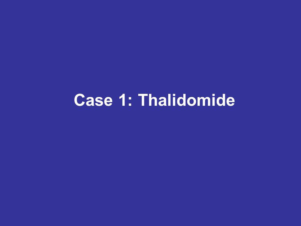Case 1: Thalidomide
