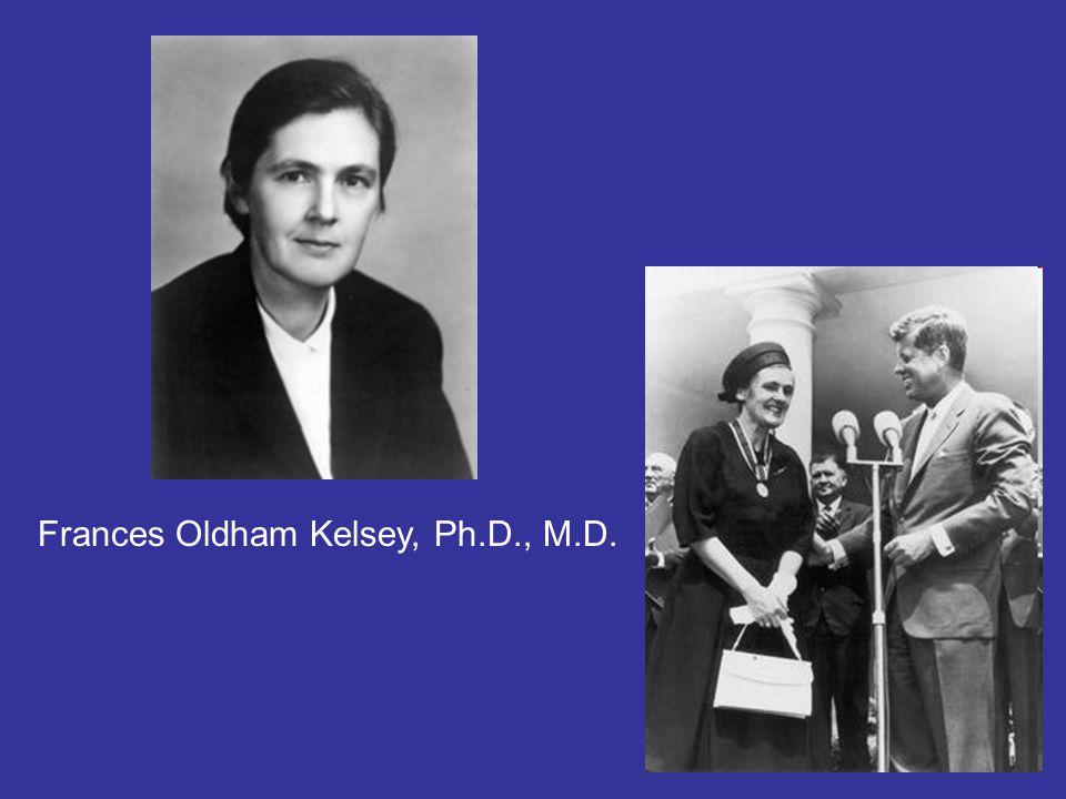 Frances Oldham Kelsey, Ph.D., M.D.